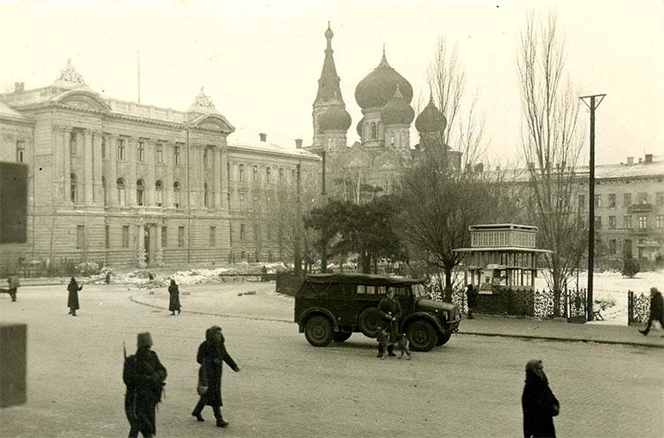 Оккупация Одессы