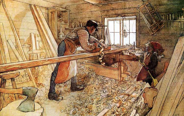 Плотничество