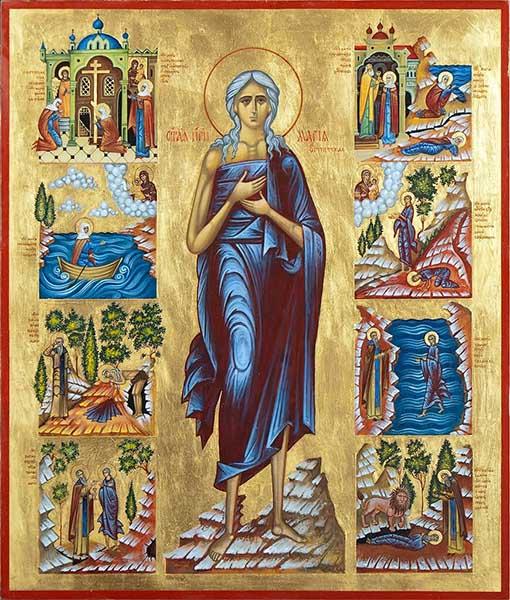 Преподобная Мария Египетская. Житие