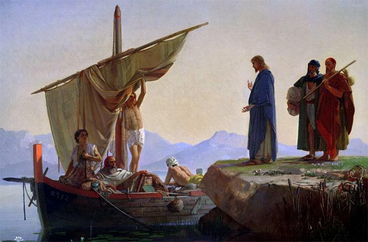 Призвание первых апостолов
