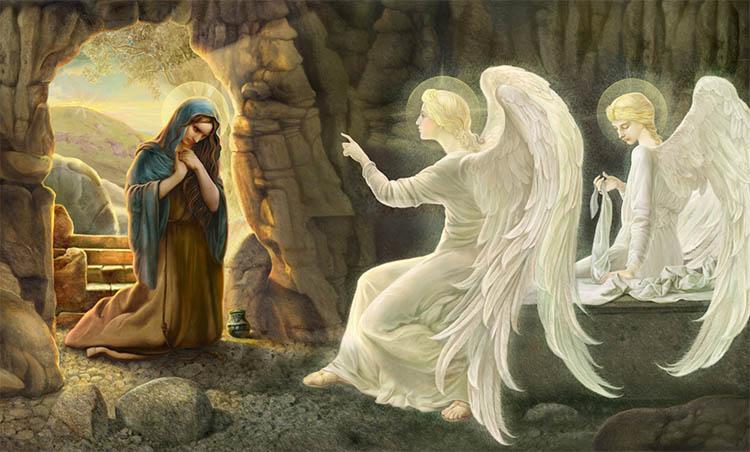Равноапостольная Мария Магдалина у Гроба Господня
