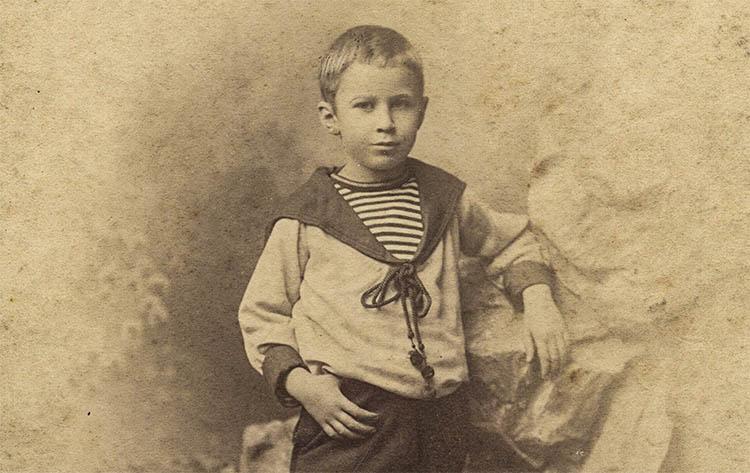 Сергей Сергеевич Прокофьев в детстве