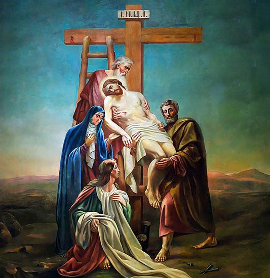 Снятие Иисуса Христа с Креста