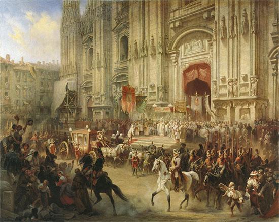 Торжественная встреча Суворова в Милане