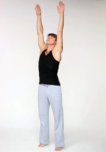 Упражнение «Потягивание»