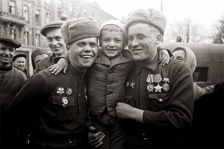 В освобожденной Одессе