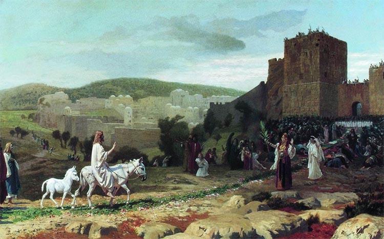 Вход Господа Иисуса Христа в Иерусалим