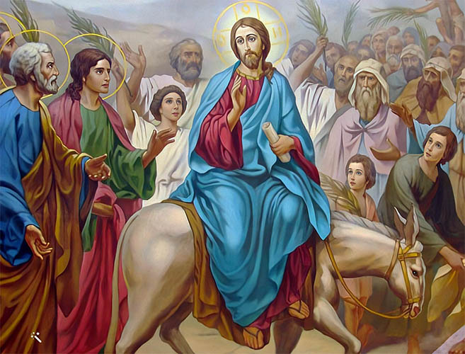 Вход Господа в Иерусалим