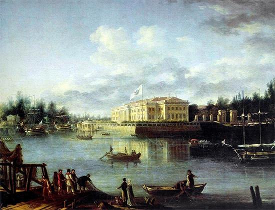 Вид на Каменноостровский дворец