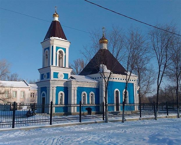 Храм в честь иконы Божией Матери «Нечаянная Радость» Саратова