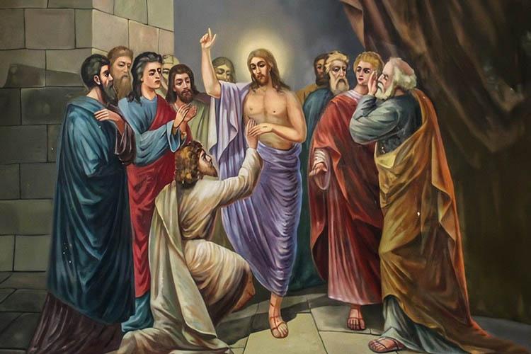 Христос и апостол Фома