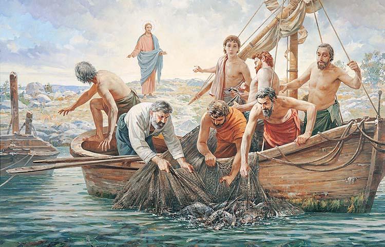 Христос призывает учеников