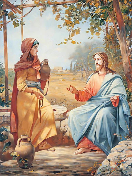 Иисус Христос и самарянка