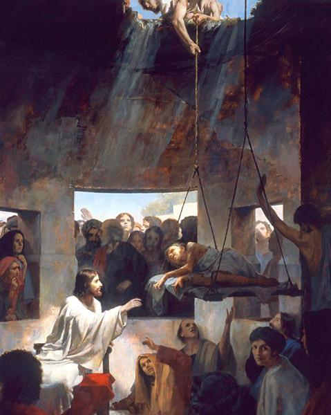 Исцеление расслабленного в Капернауме