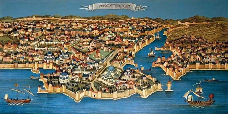 Константинополь в 4 веке