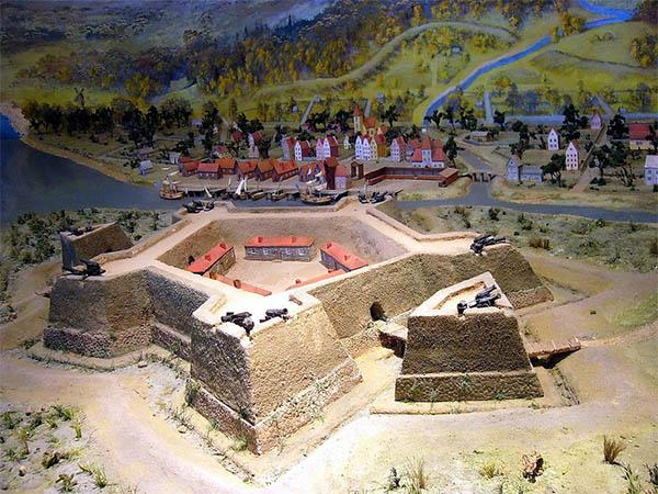 Крепость Ниеншанц и город Ниенштадт