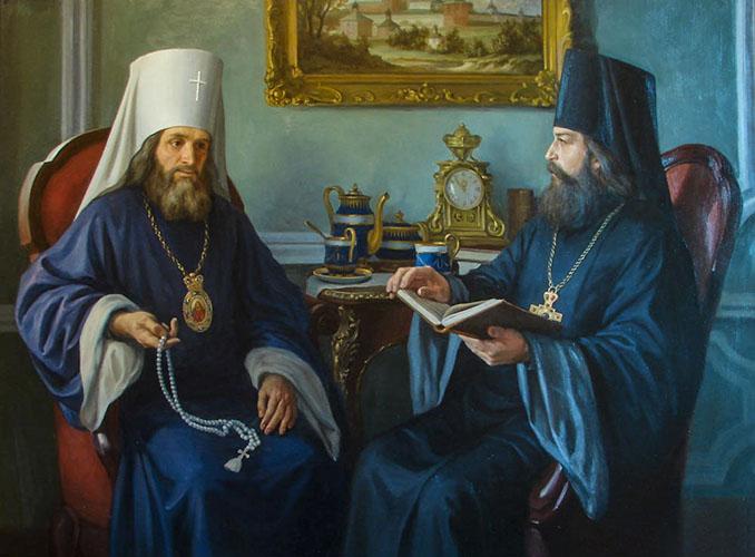 Митрополит Филарет и святитель Игнатий (Брянчанинов)