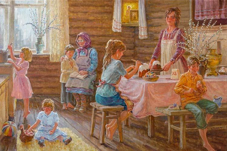 Подготовка к Пасхе с детьми