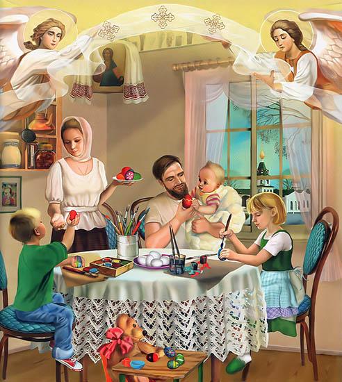 Подготовка к светлому Христовому Воскресенью