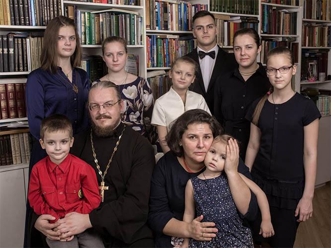 Семья матушки Анны Ромашко