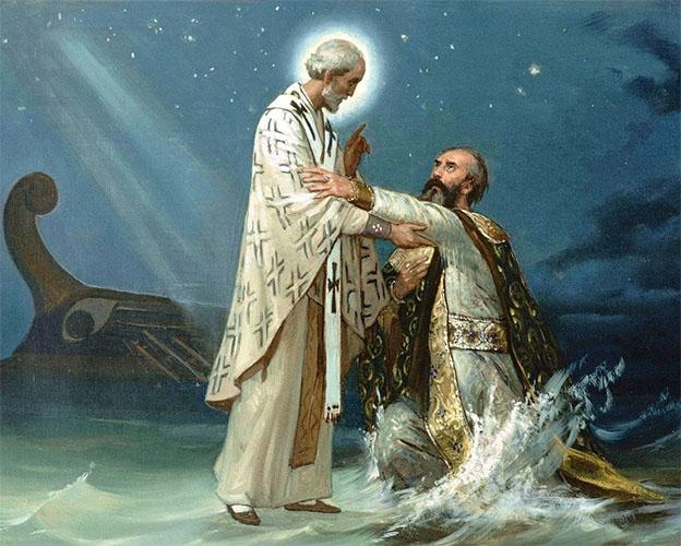 Спасение Патриарха Афанасия