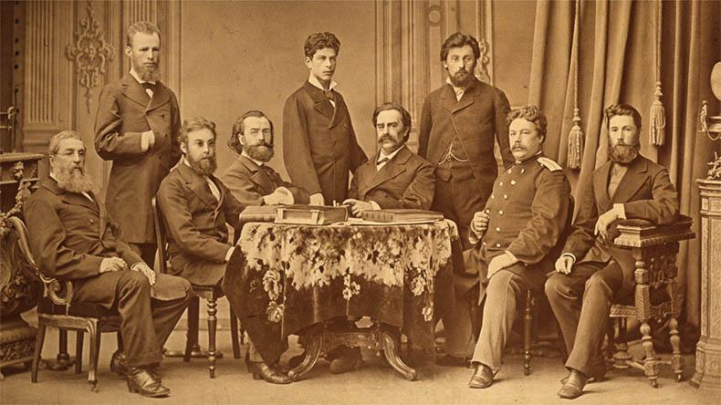 Участники основания Исторического музея