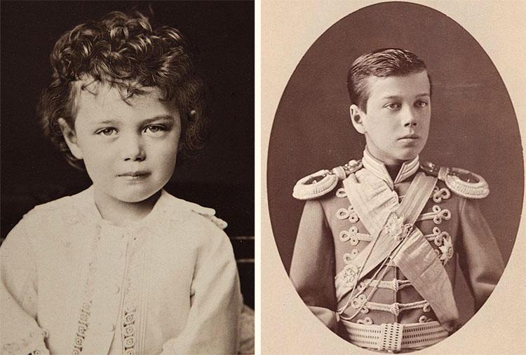 Великий князь Николай Александрович в детстве
