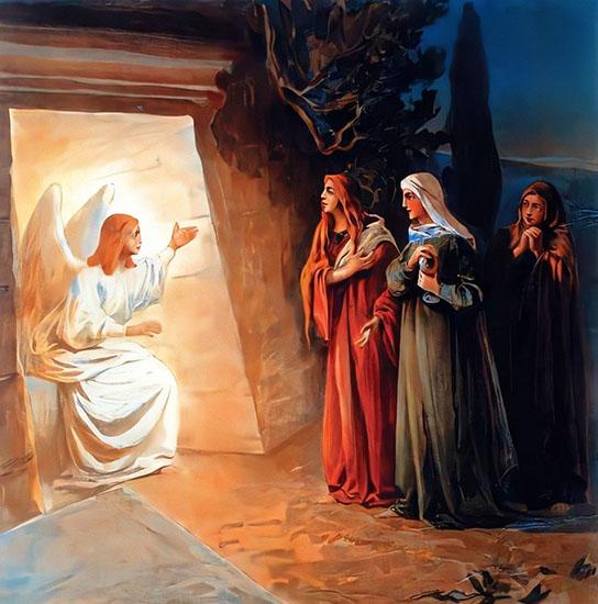 Жены-мироносицы и Ангел Господень