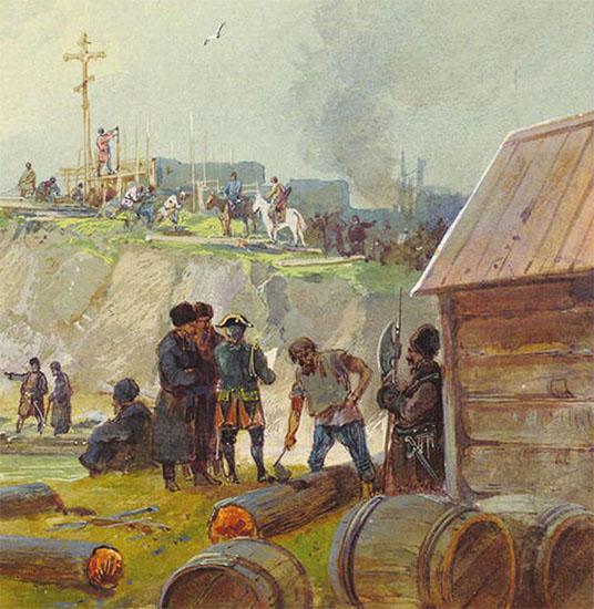 Заселение земель