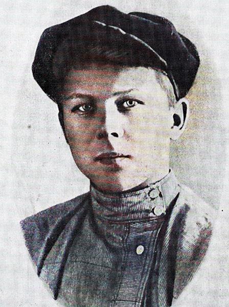 Александр Твардовский в детстве