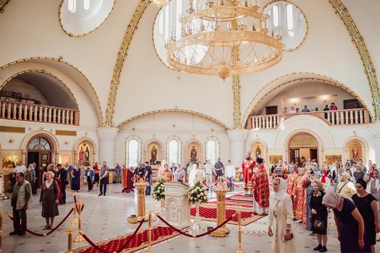 Богослужение в день Отдания праздника Пасхи
