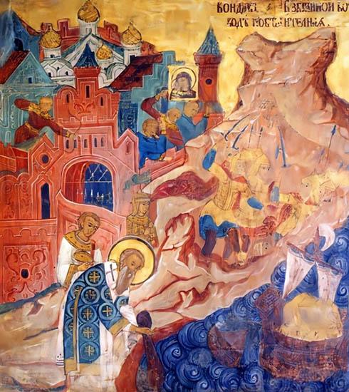 Чудесное спасение Константинополя