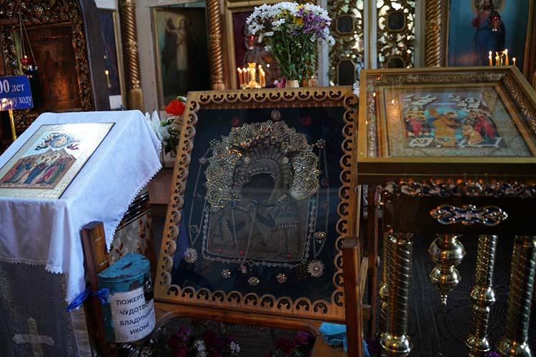 Чудотворная икона Божьей Матери Владимирская