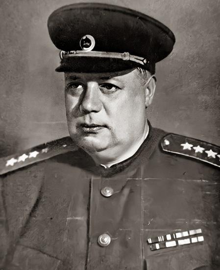 Федор Толбухин в звании генерала