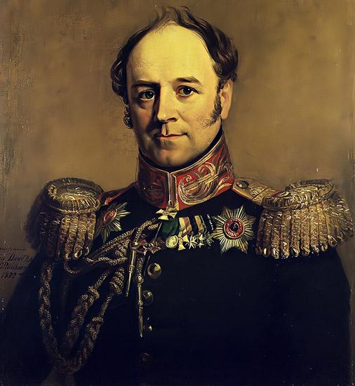 Генерал Александр Бенкендорф