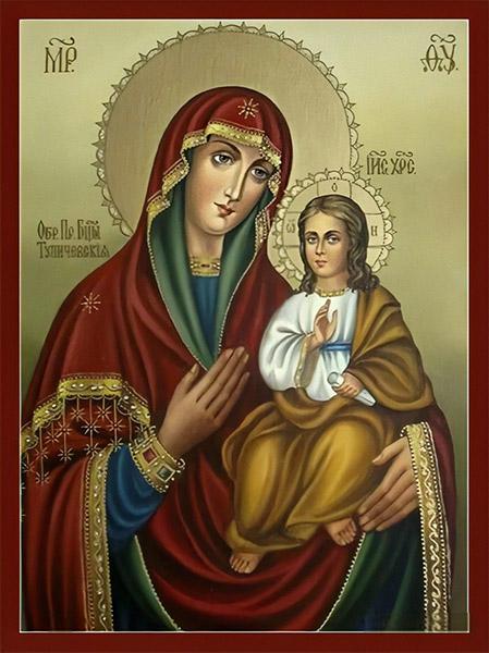 Икона Богородицы Тупичевская