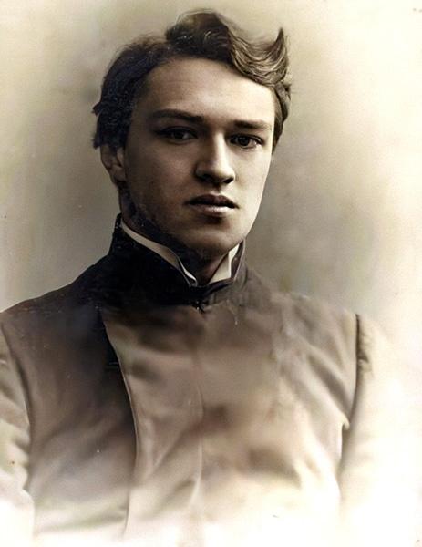 Иван Сергеевич Шмелев в юности