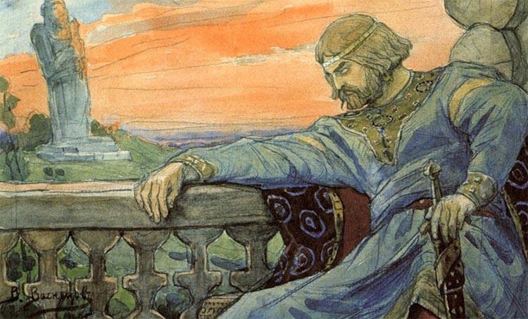 Князь Владимир до Крещения Руси