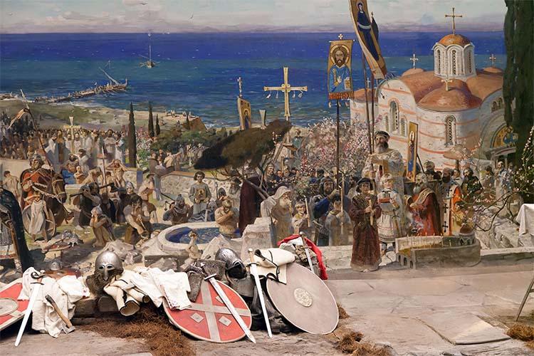 Крещение войска князя Владимира