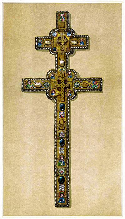 Крест преподобной Евфросинии Полоцкой