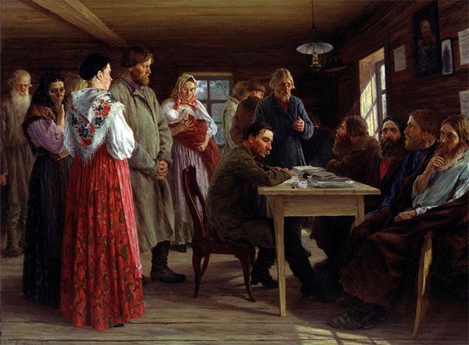 Крестьяне Российской империи