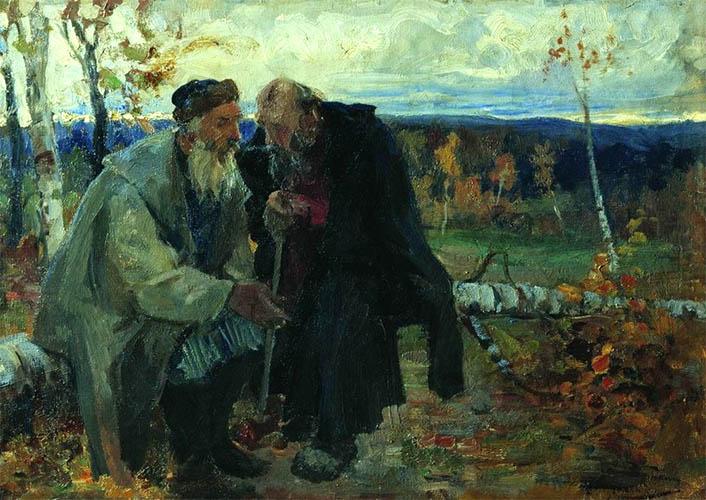 Крестьянин и старец