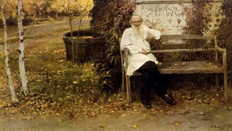 Лев Николаевич Толстой в Ясной Поляне