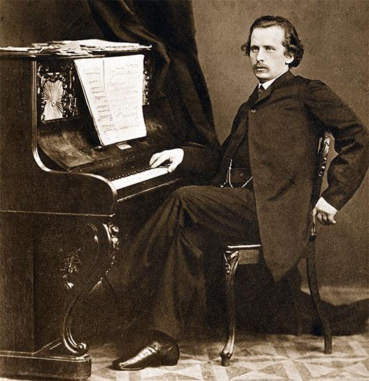 Пианист Николай Рубинштейн