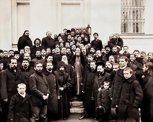 Праведный Иоанн Кронштадтский среди людей