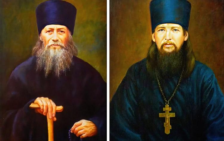 Преподобные Анатолий II Оптинский и Нектарий Оптинский