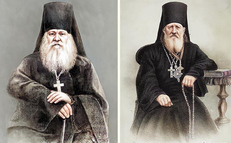 Преподобные Антоний Оптинский и Моисей Оптинский