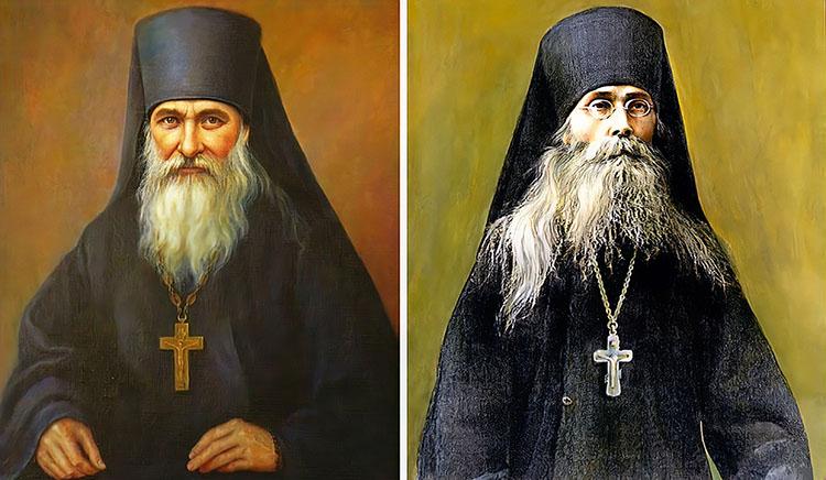 Преподобные Иосиф Оптинский и Варсонофий Оптинский