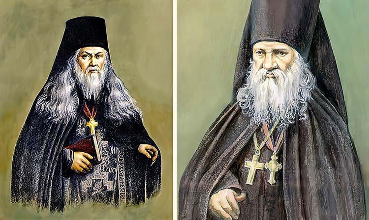 Преподобные Лев Оптинский и Макарий Оптинский