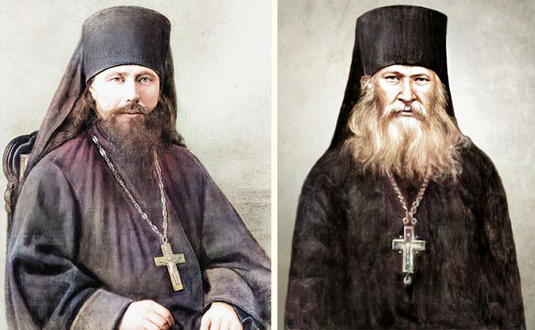 Преподобные Никон Оптинский и Исаакий II Оптинский